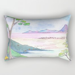 A Japanese Sight Rectangular Pillow