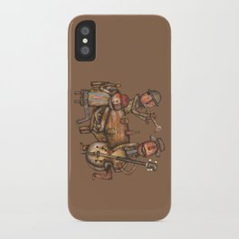 The Small Big Band iPhone Case