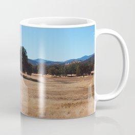 Fall Field Photography Print Coffee Mug
