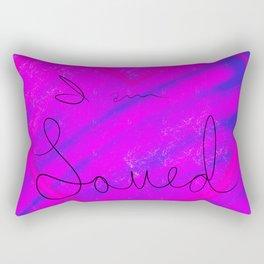 I am Loved Rectangular Pillow
