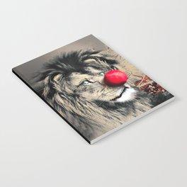 Circus Lion Clown Notebook