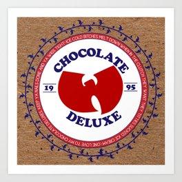 chocolatedeluxe. Art Print