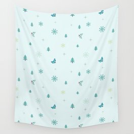 Christmas theme Wall Tapestry