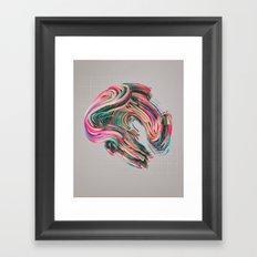 VIVE.02 (everyday 09.01.16) Framed Art Print