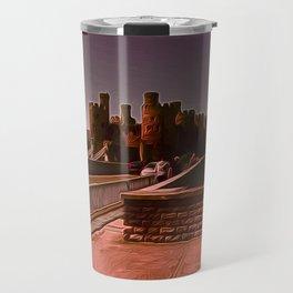 Conway Castle (Digital Art) Travel Mug