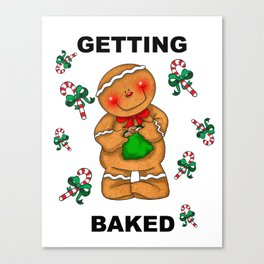 Getting Baked Canvas Print