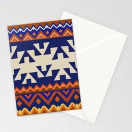 Aztec Folk Art Stationery Cards