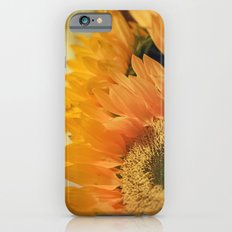 Here Comes the Sun -- Sunflower Botanical Slim Case iPhone 6s