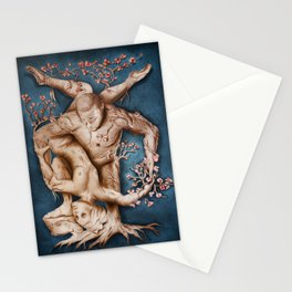 Entangled - Rustic Blue Stationery Cards