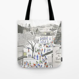 ross common Tote Bag