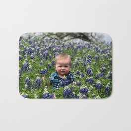 Flower Photography by Cecily Chenault Bath Mat