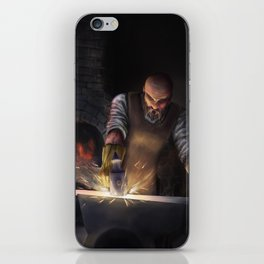 The Steel iPhone Skin