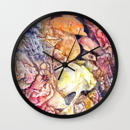 Dreaming the sea Wall Clock