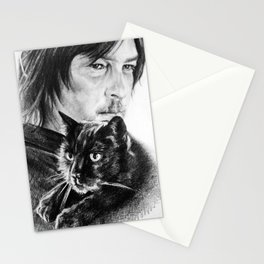 Norman and Eye In The Dark Stationery Cards