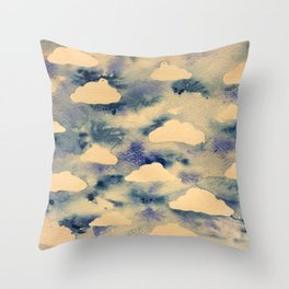 Cloud sky  Throw Pillow