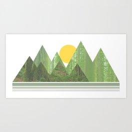 Mountain Sunrise - Rockport State Park Art Print