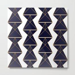 Up, Down and Sideways Metal Print