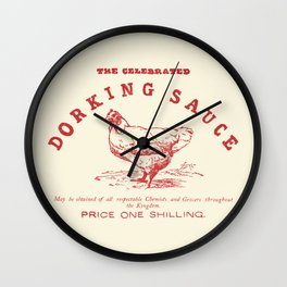 Dorking Sauce Wall Clock