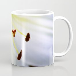 White Easter Lily Close Up Coffee Mug