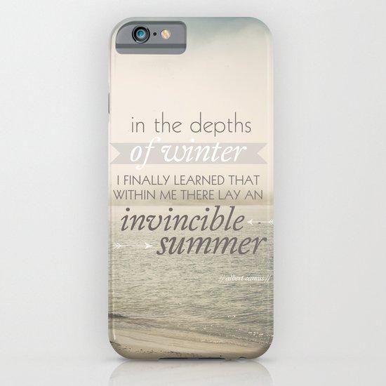 Invincible Summer iPhone & iPod Case