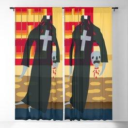 Headless Priest Blackout Curtain