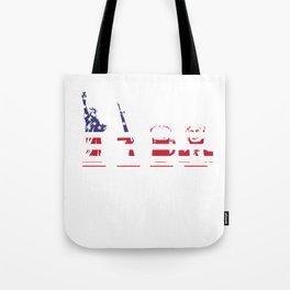 Funny Parody LGBT Pro Trump Liberty Guns and Beer Gift Tote Bag