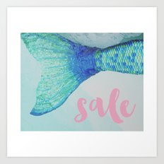 SALE!!! 20% off everything and free shipping! Happy monday! Art Print