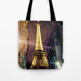 Paris La Nuit Tote Bag