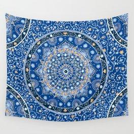 Summer Nights Mandala  Wall Tapestry