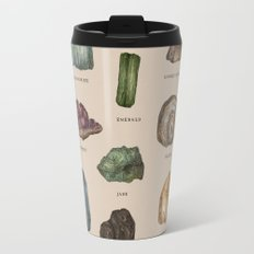 Gems and Minerals Travel Mug