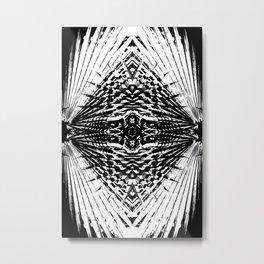 Starship Palm Metal Print