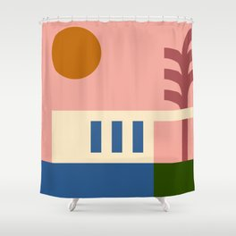 Thinking Back To The Holiday I Never Had .01 Shower Curtain