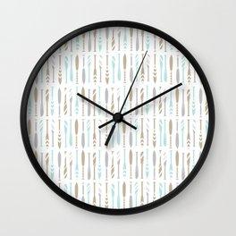 River OAR Ocean Wall Clock