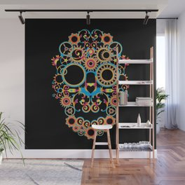 00 - STEAMPUNK BLACK Wall Mural