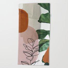 Simpatico V2 Beach Towel