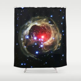 Monocerotis Shower Curtain