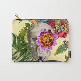 TROPICAL SKULL Carry-All Pouch