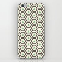 honeycomb iPhone & iPod Skins featuring Honeycomb by Tayler Willcox