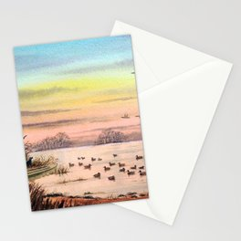 Duck Hunting With Granddad Stationery Cards