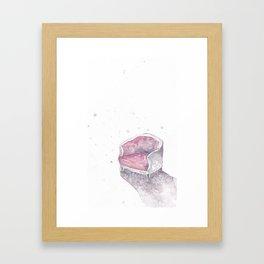 chair no. 5 Framed Art Print