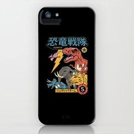 Dino Sentai iPhone Case
