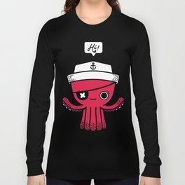 Octopus Sailor Long Sleeve T-shirt
