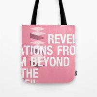 islam Tote Bags featuring IGNS poster design by Matthew Billington