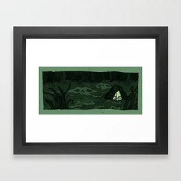 The Moon Bog Framed Art Print