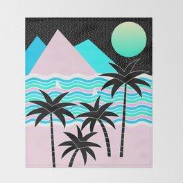 Hello Islands - Starry Waves Throw Blanket