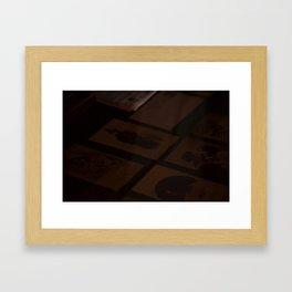 Love Notes Framed Art Print