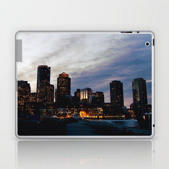 Christmas in Boston Laptop & iPad Skin