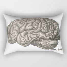 in my brain, it's tingling Rectangular Pillow