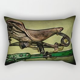Back in the Saddle Rectangular Pillow