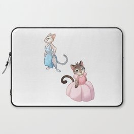 Cats in Dresses Laptop Sleeve